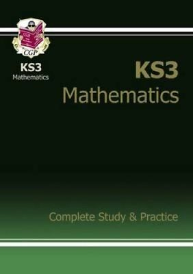 New KS3 Maths Complete Study & Practice (with Online Edition) 9781841463834