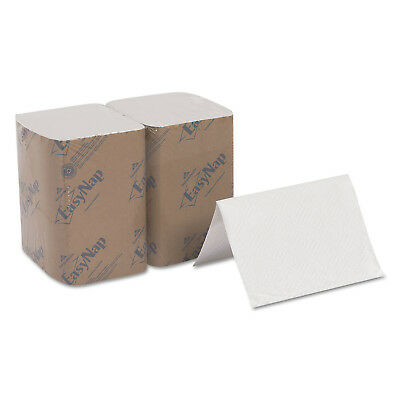 6 - 500 Pk 2 Ply Dixie EasyNap White Dispenser Napkin Refill Compostable 3213000