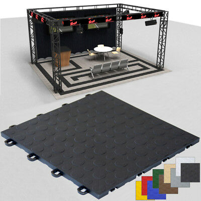 Trade Show Floor Portable |Black Coin|Made in the USA