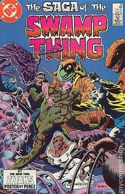 Swamp Thing (2nd Series) #22 1984 VG/FN 5.0 Stock Image Low Grade