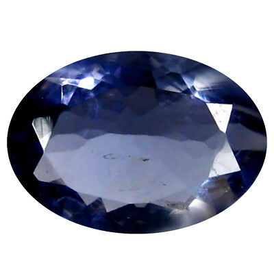 1.19 ct AAA Very good Oval Shape (9 x 7 mm) Iolite Natural Loose Gemstone