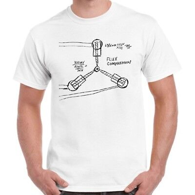 Back to The Future 80s Flux Capacitor Cool Vintage Retro T Shirt 134