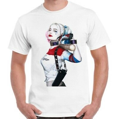 Suicide Squad Harley Quinn Cool Retro T Shirt 143