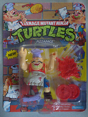 Pizzaface vintage TMNT / Teenage Mutant Ninja Turtles tortues Playmates MOC NEUF