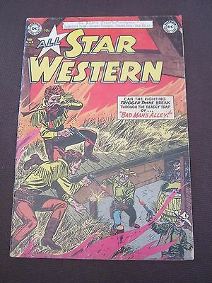 All-Star Western # 75 - March 1954 - DC Classic Western Comic Gil Kane cover   K