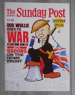 Oor Wullie Goes To War , Broons On Home Front , 1989 , Souvenir Sunday Post