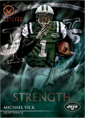 2014 Topps Valor Strength New York Jets Football Card  131 Michael Vick 548cd0066