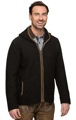 Stockerpoint Traditional Jacket Knit Anthracite