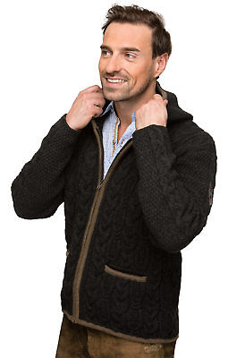 Stockerpoint Traditional Jacket Sweater Anthracite