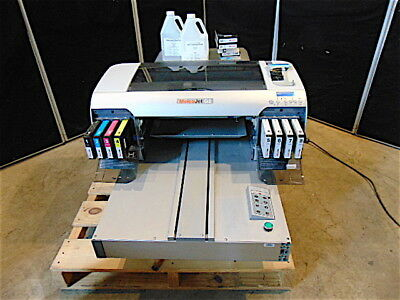 MelcoJet G2 DirectTo Garment Textile Printer-Came From Working Environment-S3328