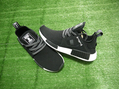 reputable site 5f93b a1555 Size 8 Adidas x Mastermind Japan MMJ NMD XR1 Athletic Black White Shoes  BA9726