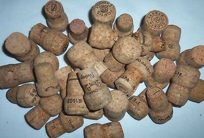 225 Used Champagne Corks Huge Lot Great For Arts Crafts Fun