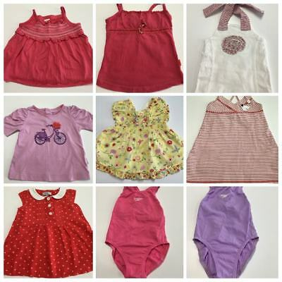 Baby Girls Size 1 Lot Pumpkin Patch Speedo Top Pants Casual Dress Summer #G200