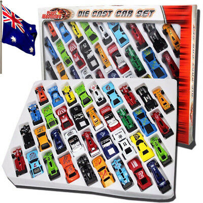 36Pcs Diecast Metal Cars Set Racing Vehicle Play Toys Kids Children Xmas Gift AU
