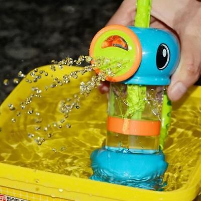 Duck Shape Pump Spray Water Bath Swimming Pool Playing for Kids Child Baby Toys