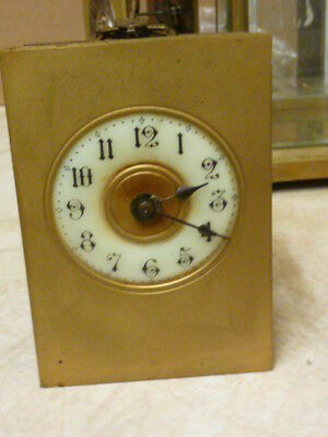Good Carriage Clock Movement & Dial--Working Fine (A)