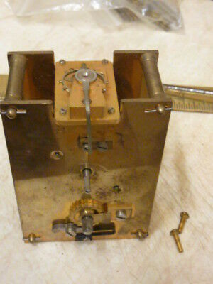 Carriage Clock Movement ----Balance Broken--Spares Or Repair (C)