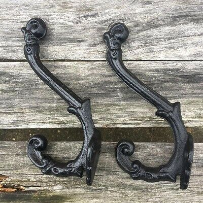 Flower Cast Iron Wall Coat Hooks Hat Hook Hall Tree Home Decor BEST PRICE