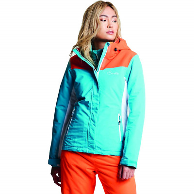 Dare 2b Women s Prosperity and Breathable Ski Waterproof Insulated Jacket 456aac8d9