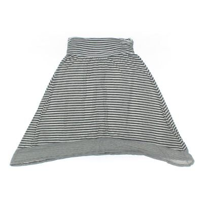 Maurices Girls Skirt, size JR 7,  grey,  polyester, rayon, spandex