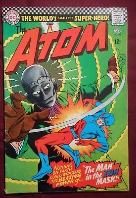 "The Atom #25 (1966, DC) Silver Age comic, nice grade, ""Legends of Tomorrow"" hero"