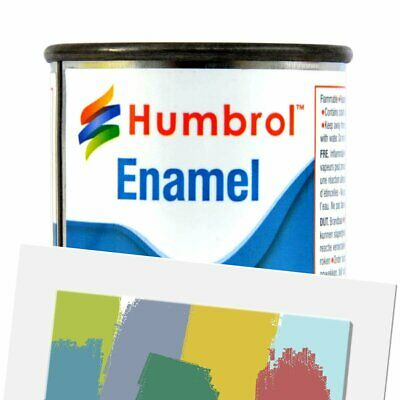 Humbrol Enamel Model Paint 50ml Gloss Matt And Metallic All Colours And Shades
