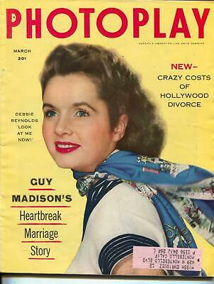 9210e6a2d4ae Photoplay-Debbie Reynolds-Marilyn Monroe-Terry Moore-Richard Burton-Mar-