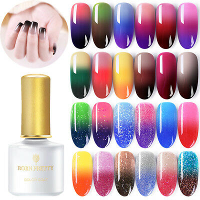 BORN PRETTY Nail Art UV Gel Esmalte de Uñas Térmico Cambio de Color Gel Polish