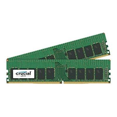 Crucial CT4K16G4WFD824A DDR4, 64 GB (4 x 16 GB), DIMM, 288-Pin, 2400 MHz, PC4-19