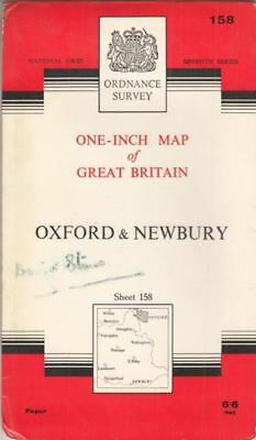 Ordnance Survey One-Inch Map of Great Britain - Sheet 158 Oxford and Newbury :