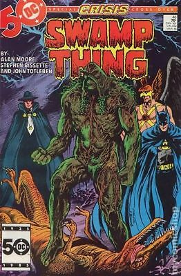 Swamp Thing (2nd Series) #46 1986 VG Stock Image Low Grade