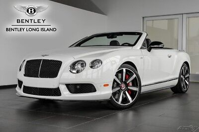 2015 Bentley Continental GT V8 S Convertible (Certified Pre-Owned)