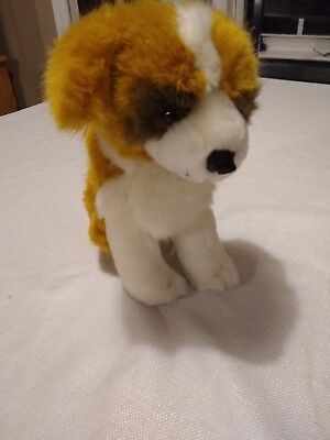 "9"" Saint Bernard Stuffed Animal Plush Puppy Dog St."