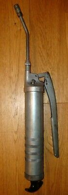 CLASSIC LARGE WANNER No.310-2 HAND HELD GREASE GUN IN GOOD USED CONDITION