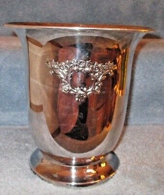Vintage Repousse Oneida Silver Plate Wine Champagne Cooler Ice Bucket