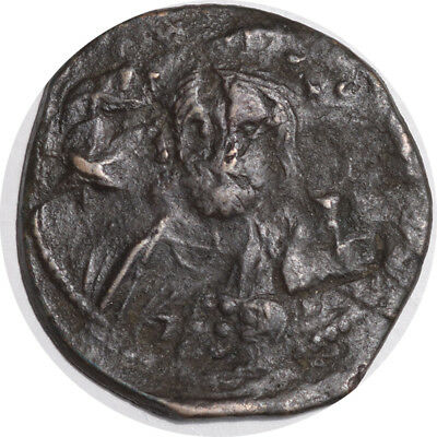 Michael Vii, Ad 1071-78, Constantinople Mint, Ae Follis, S-1878, About Vf!