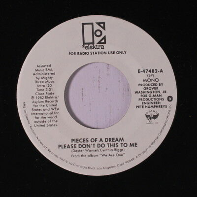 PIECES OF A DREAM: Please Don't Do This To Me / Mono 45 (dj) Soul