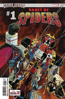 Vault of Spiders #1 Spider Geddon Main Cover STOCK PHOTO Marvel Comics