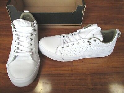 f581876b9a186c NEW Converse All-Star Fulton OX Low Shoes MENS 12 White Leather 151048c  70.