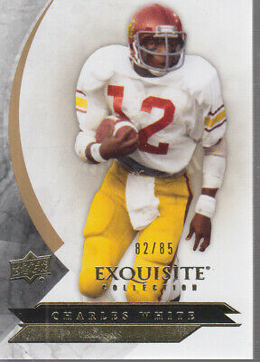 2012 Exquisite Collection #53 Charles White /85
