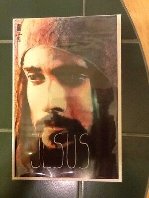 """The Walking Dead Issue #185 Variant Cover """"Jesus"""" Image Comics Sienkiewicz"""