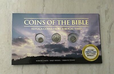Coins of the Bible, Replica Coins from the Biblical Times Tribute Penny