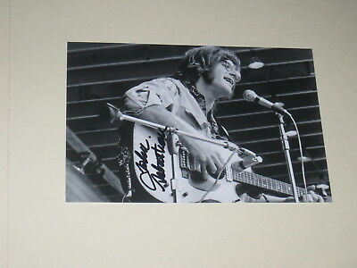 Singer JOHN SEBASTIAN Signed WOODSTOCK 4x6 Photo LOVIN' SPOONFUL AUTOGRAPH 1C