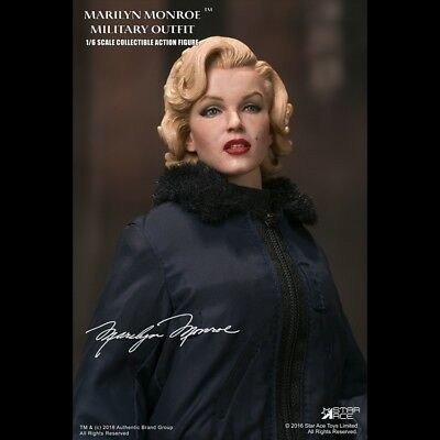 Star Ace Toys 1/6  Marilyn Monroe MILITARY OUTFIT Specially Action FIGURE SA0055