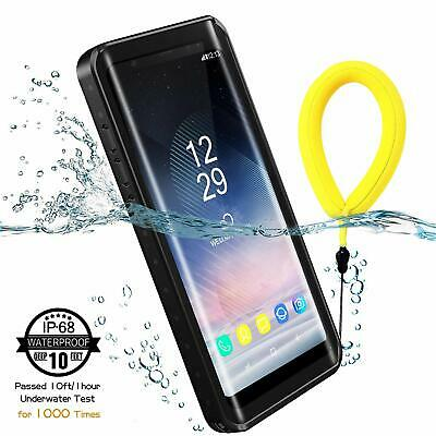 For Samsung Galaxy Note 8 Waterproof Case Cover with Built-in Screen Protector
