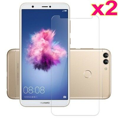 2x For Huawei P Smart/Enjoy 7S Tempered Glass 9H Premium Screen Protector Film