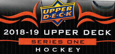 18/19 UD UPPER DECK SERIES 1 HOCKEY BASE TEAM SETS ANA-WIN U-Pick Team From List