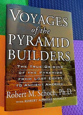 PYRAMID origins from ANcient Egypt to Ancient America HB/DJ pyramids archaeology
