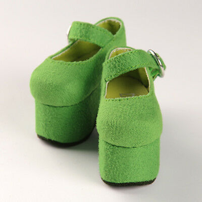 SW Ruth Flat Shoes Dollmore BJD MSD Green
