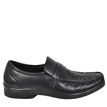 Naples | Olympus | Mens Woven Top Formal Dress Shoe | Spendless Shoes